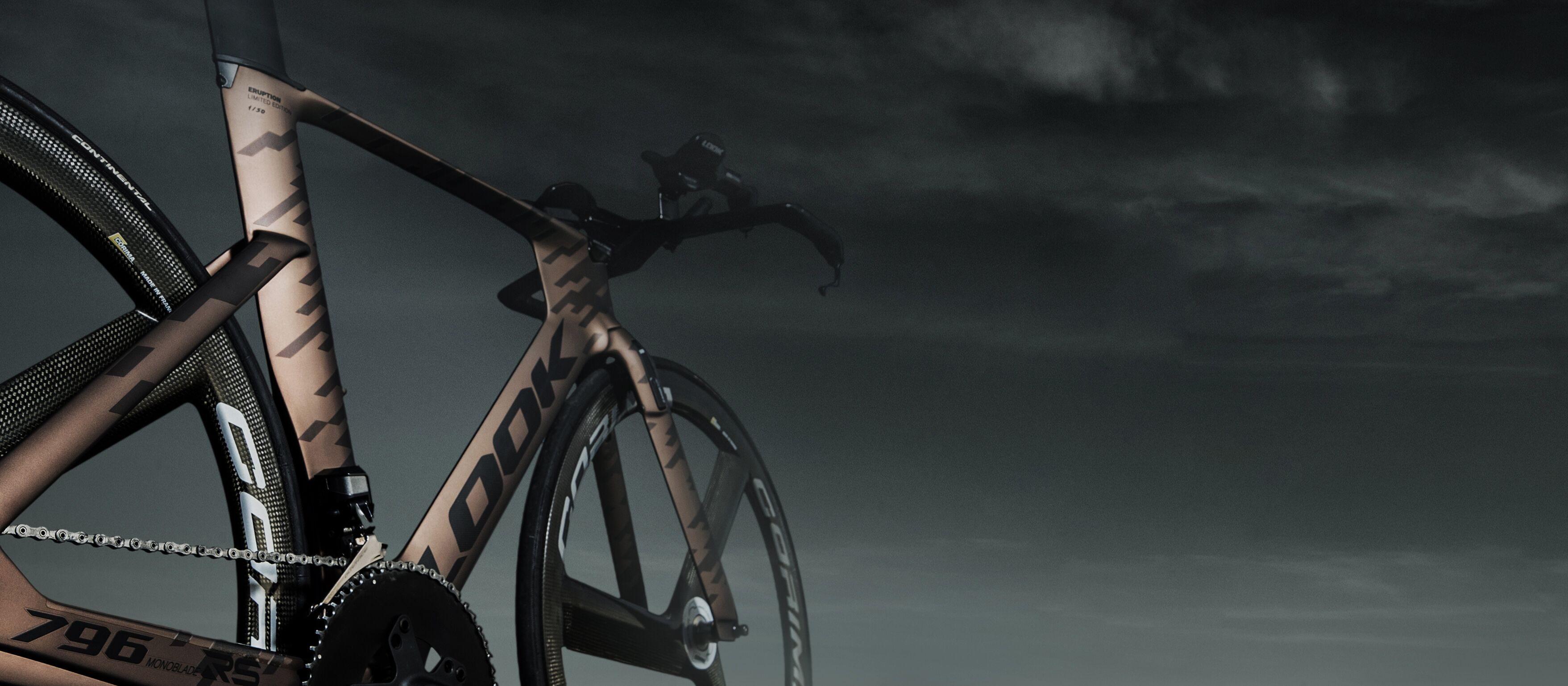 Look 796 Mono Blade Éruption avec roues 3 bâtons Corima