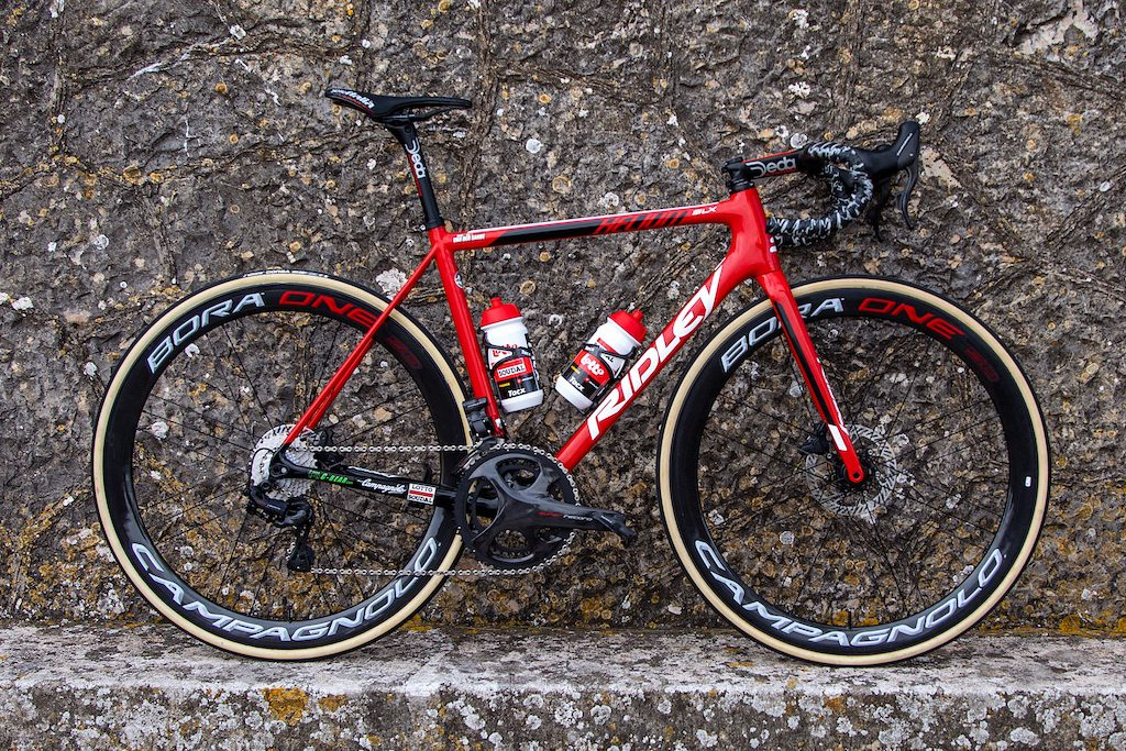 Vélo Ridley Lotto-Soudal Helium ou Noah Vélos Équipes Pros 2020