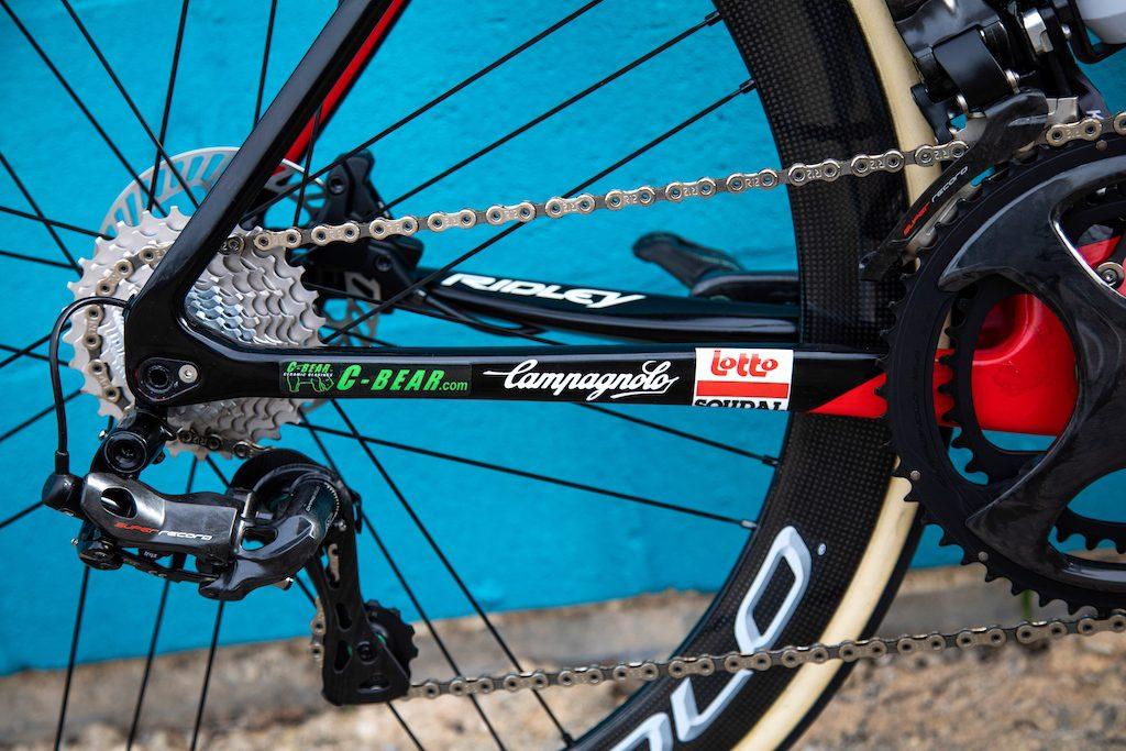 Ridley Lotto Soudal Vélos Équipes Pros 2020