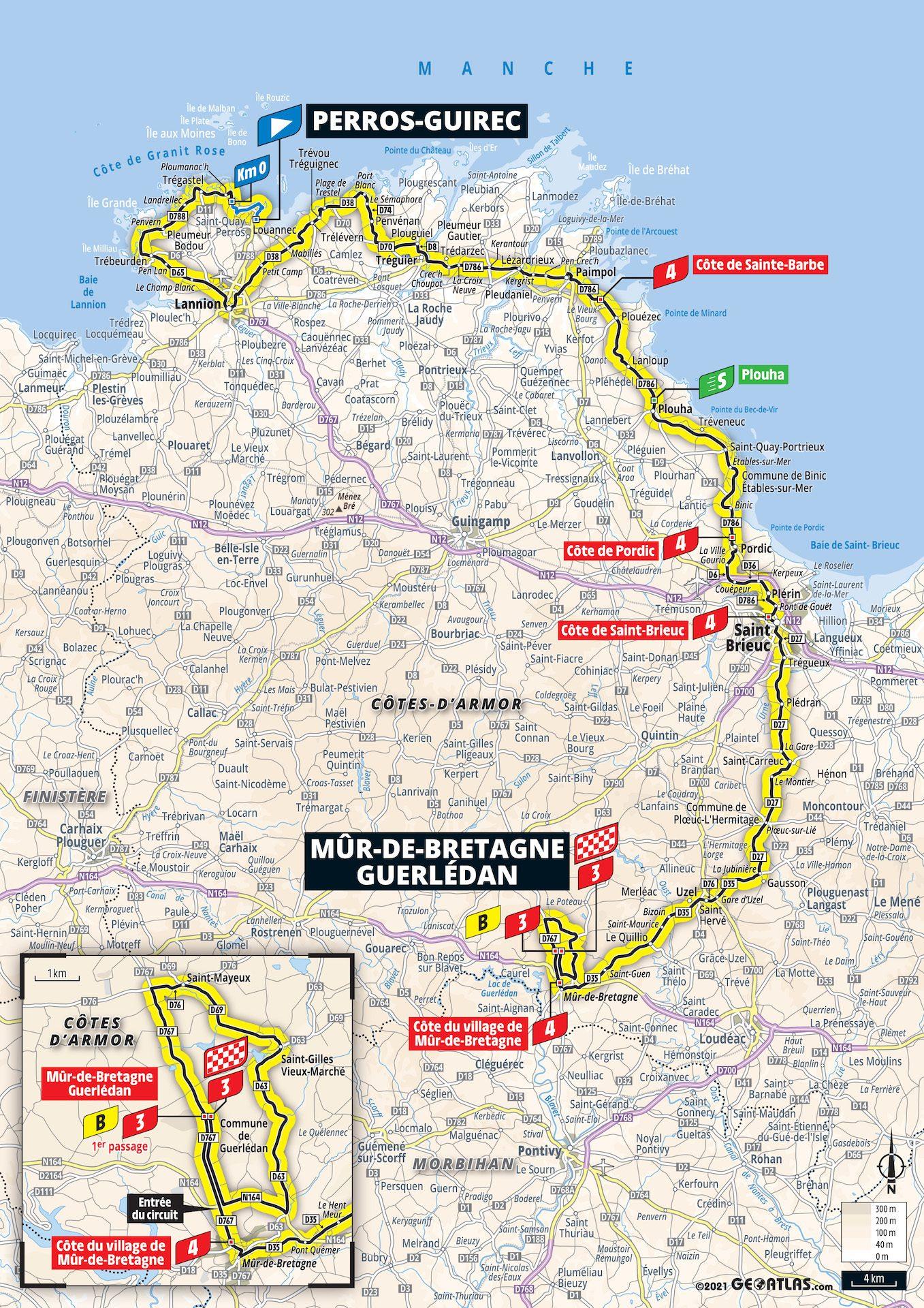deuxième étape Tour 2021