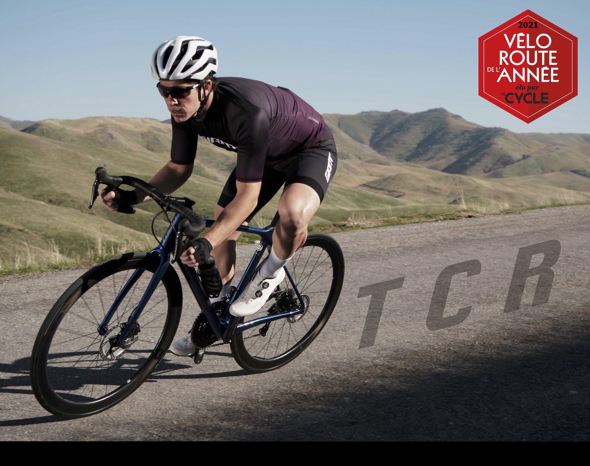 2021 Vélo Route de l'Année Le Cycle Giant TCR Advanced Pro 0 Disc