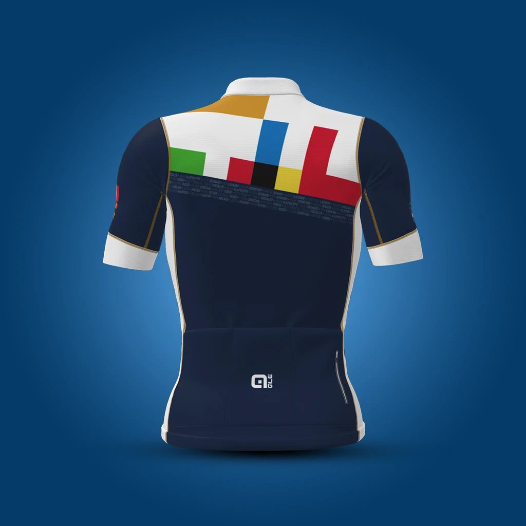 2021 maillots Le Doublé et Louvain d'Alé pour Italvet