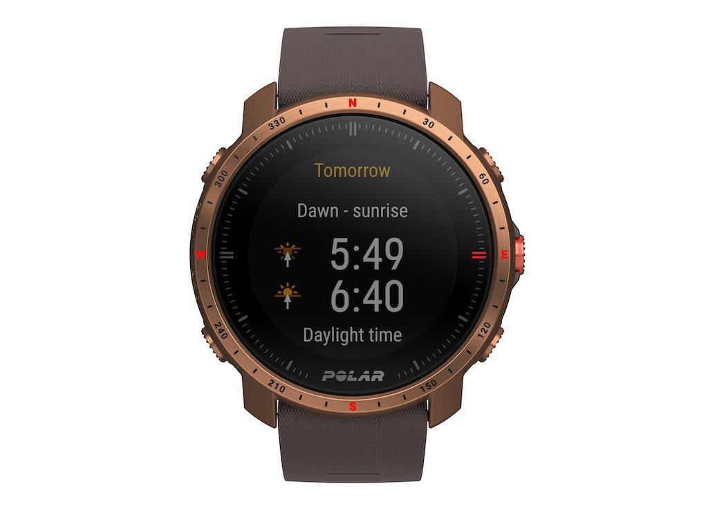 2021 Polar montre connectée Grit X Pro