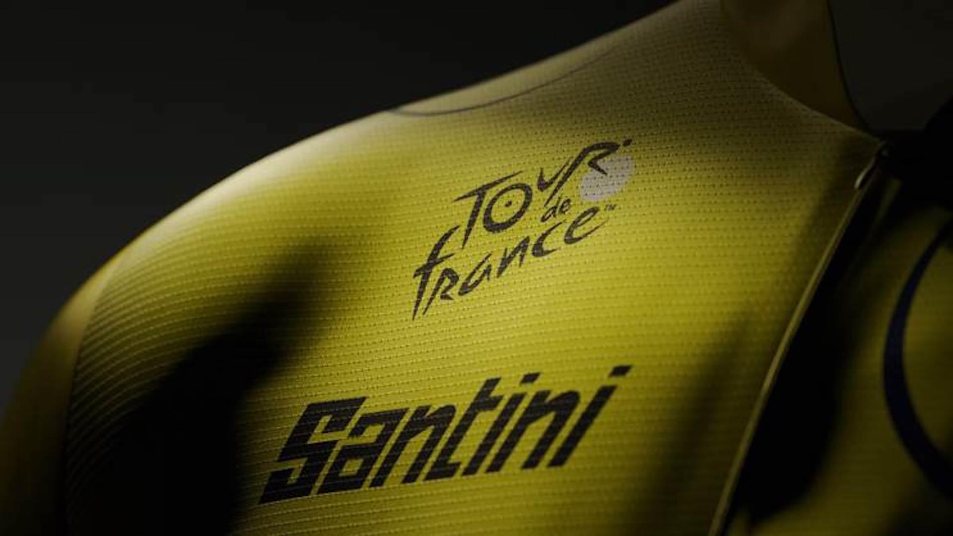 2022 maillot jaune Santini